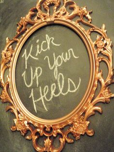 kick up your heels