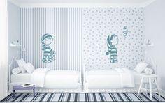 Vinilos infantiles vinilvip para habitaciones bebés de la colección Pijama.