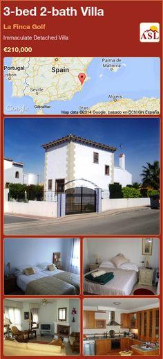 3-bed 2-bath Villa in La Finca Golf ►€210,000 #PropertyForSaleInSpain