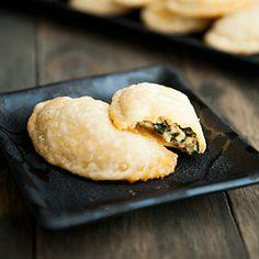 Spinach and cheese empanadas. #foodgawker