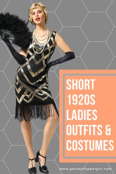 Looking for the perfect outfit for your next party or event? Click here to see all our Stunning 1920s short style Flapper Dresses! Great Gatsby Dresses, Great Gatsby Party, Flapper Dresses, 1920s Dress, Sexy Shorts, Short Dresses, Clothes For Women, Lady, How To Wear