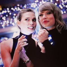 Which Of Taylor Swift's BFFs Are You? U got Karlie Kloss!