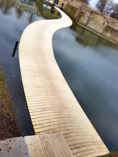 Ravelijn op den Zoom Floating Bridge by RO&AD