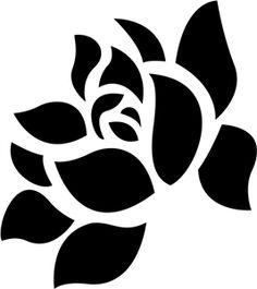 Silhouette Design Store - View Design #16319: flower
