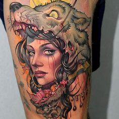 Tattoo done by Victor Chil.