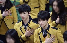 160302 Smrookies Jeno,Mark,Jaemin & Donghyuck at SOPA, Their Graduation