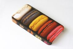 Valentines day SALE: French Patisserie Macaroons iPhone 4/ 4s / 5 Samsung Galaxy S2/ S3 Plastic Case. Sweet Accessory. Bakery Chef Gift