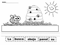 CUT AND PASTE SENTENCES INSECTS IN SPANISH - TeachersPayTeachers.com