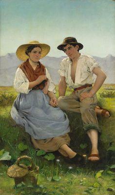 Дом моей любви: Вязание в живописи. ч.3