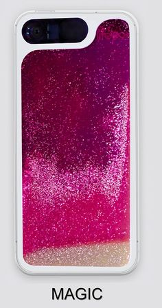 """LifeBox Glow Apple iPhone 6 Case 4.7"""" Dual Layer Hybrid Bumper Double Protection with Liquid Infused Glow in the Dark Fluoroscent with Glitter Sand - Retail Package - Magic: Amazon.ca: Cell Phones & Accessories"""