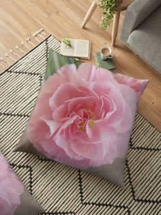 'Do you remember the Pink Carnation' Throw Pillow by ellenhenry