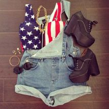 USA outfit