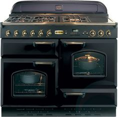 Falcon Electric Oven with Gas Cooktop