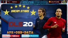 Dream League Soccer 2020 - Download DLS 20 Mod and OBB - [ DLS 20 ] Soccer Kits, Soccer Games, Fifa Games, Offline Games, News Games, Europa League, Stars, Android Apk, Hack Tool