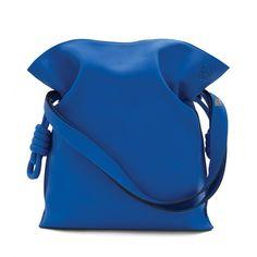 Loewe Flamenco - FLAMENCO KNOT BAG Electric Blue