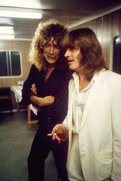 """satya-: """"Robert Plant & John Paul Jones. """""""
