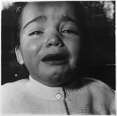 Child Crying, New Jersey by Diane Arbus