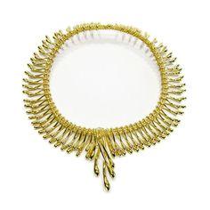 wishbone necklace.