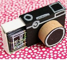 Make out of a Mach box into a camera with photos inside of great memories with your bff or anyone else!!