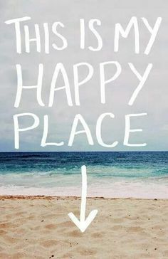 Mine too. I feel so free when I'm on the beach. I just want to live there