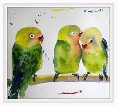 Bird # 16 by Polina Morgan
