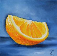 "Daily Paintworks - ""Orange"" by Jacinthe Rivard"