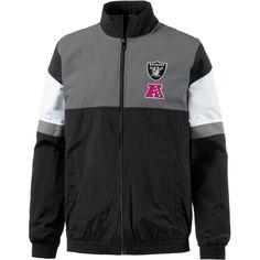 New Era Funktionsjacke »Oakland Raiders« für 69,95€. Stehkragen, 2 Taschen, Elastische Abschlüsse, Raiders-Print bei OTTO