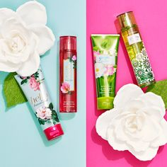 Floral & flirty? Or fresh & dewy? Which new gardenia scent do you choose for spring?