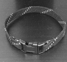 A personal favorite from my Etsy shop https://www.etsy.com/listing/263301227/hockey-lace-bracelet