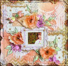 """You've been framed!"" By Lisa | Lindy's Stamp Gang"