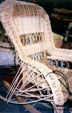 Diy Wicker Weaving Info Great For Upcycling Broken Chairs