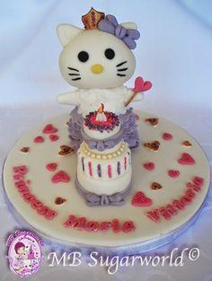 hallo kitty cake topper