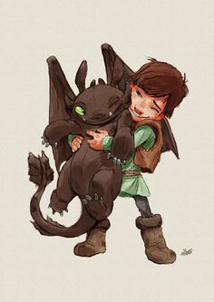I love How to Train your Dragon, the dragons remind me of cats in their behavior!