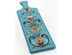 Sandwich Board with Rogaland Rosemaling by Trudy Wasson