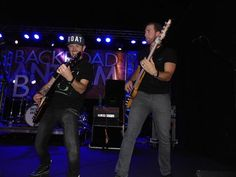 Tobias Freeman and Brandon Robold from the band Backroad Anthem