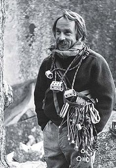 Yvon Chouinard is a dude.  Rock climber, environmentalist and outdoor industry businessman shaking things up via his company, Patagonia. Respect.
