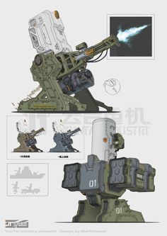 ArtStation - CIWS, Mark Sanwel