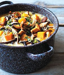 Wild mushroom and butternut squash soup - Canadian Gardening