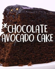 Tasty Food Videos presents you the best cooking recipes. The tips of the culinary arts well explained, healthy, easy and delicious. Chocolate Cake Video, Chocolate Avocado Cake, Healthy Chocolate, Chocolate Recipes, Chocolate Food, How To Make Chocolate, Avocado Dessert, Tasty Videos, Food Videos