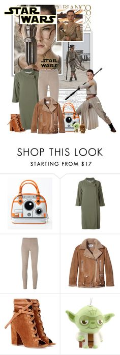 """""""Star Wars: The Force Awakens"""" by lisalockhart ❤ liked on Polyvore featuring Etro, Steffen Schraut, Acne Studios, Gianvito Rossi, Hallmark, R2, StreetStyle, starwars and contestentry"""