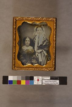 Barbara W. Cotton and Charlotte H. Cotton | Daguerreotypes collection, ca. 1845-1865 (PC005) -- Historic New England