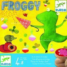 Froggy gra pamięciowa, Djeco | Dadum