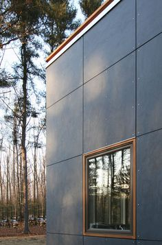 modern exterior by Resolution: 4 Architecture - article about fiber cement panels on Houzz Fiber Cement Siding, Metal Siding, Cement Board Siding, Metal Roof, Siding Cost, Hardie Board Siding, Exterior Siding Options, Exterior Wall Panels, Fiber Cement Board