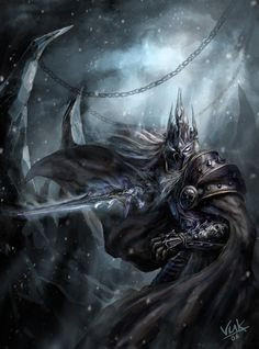 The Lich King is the master and lord of the Scourge, which he rules telepathically from the. Fantasy Rpg, Dark Fantasy, Warcraft Dota, Warcraft Heroes, Arthas Menethil, World Of Warcraft Wallpaper, World Of Warcraft 3, Lich King, Death Knight