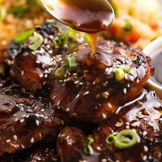 Honey Soy Chicken Marinade, Honey Soy Garlic Chicken, Honey And Soy Sauce, Chicken Marinade Recipes, Sauce For Chicken, Chicken Marinades, Fall Soup Recipes, Dinner Recipes, Easy Zucchini Recipes