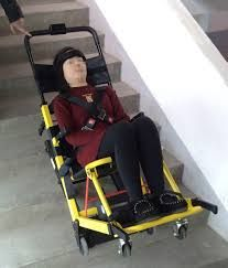 emergency stair chair. Simple Stair Electric Stair Climbing Wheelchair For Old People And Emergency Evacuation Chair