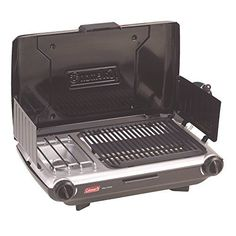 Coleman Camp Propane Grill/Stove for this best grilled asparagus recipe. There are several options in grill types to make this grilled asparagus recipe. You can use simple fold-up grills or heavier duty ones to make this over a campfire. You can also use propane grill stoves or grill boxes.