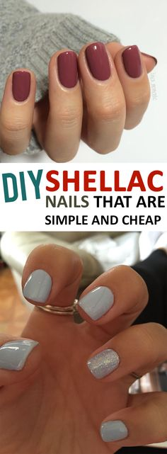 DIY shellac nails that you need to try!