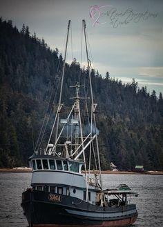 ELLIOTT  Fishing Vessel SAGA boat Petersburg, Alaska ship seascape photography