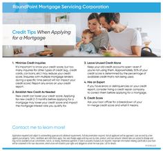 Check out these five credit tips when applying for a mortgage! With the help of myself and John Coneys of RoundPoint Mortgage, (NMLS# 183853 – 610.322.4886) we can explore homebuying options to help you meet your goals. #RealEstate #Realtor #HomePurchase #BuyersMarket #PlymouthMeetingRP